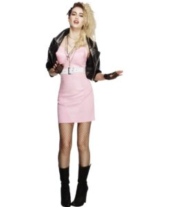 80's Fever Rocker Diva Costume