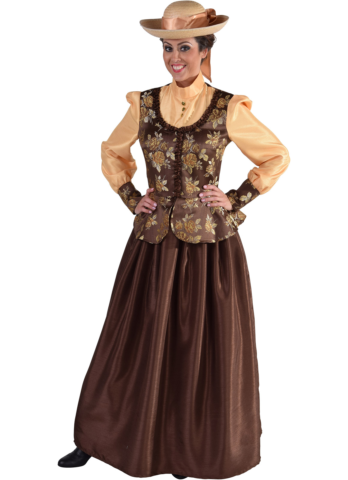 "Victorian ""Chocolate Box"" Lady"