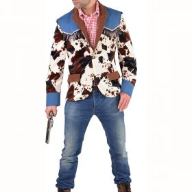 cowprint jacket
