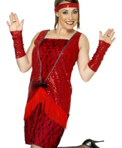 1920'S Razzle Dazzle Sequins Dress 3 colours