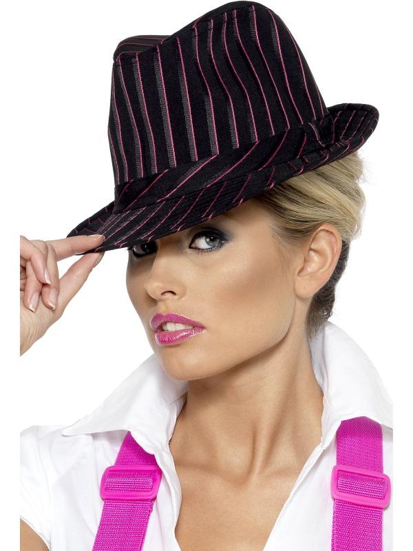 Gangster , Black/Pink stripe