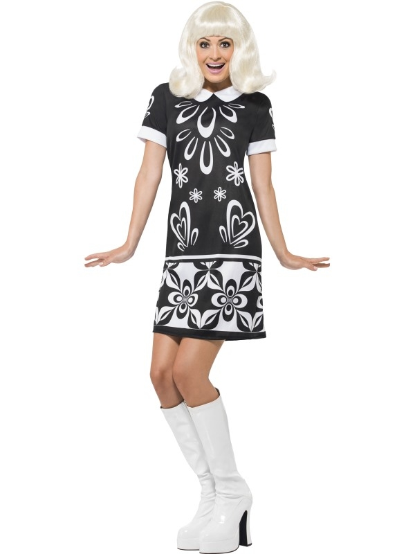 60's Monochrome Dress