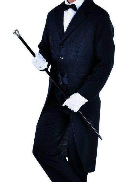 Tailcoat - Male , Black