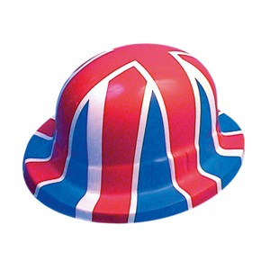 Hat - Union Jack - Bowler Hat