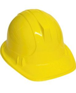 Construction Worker / Builders Helmet - Plastic