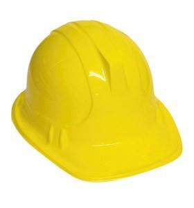 Construction Worker / Builders Helmet - Plastic