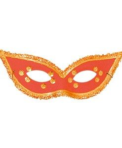 Eyemask- fiesta mask Red