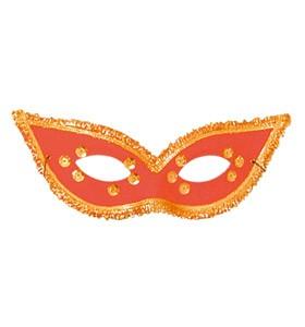 Eyemask- fiesta mask Red