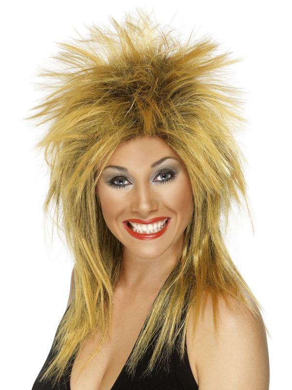 80's Rock Diva Wig