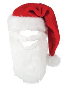 Christmas Santa Hat with Beard
