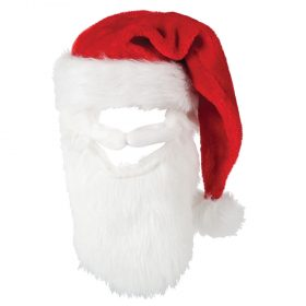 Christmas Santa Hat with Beard