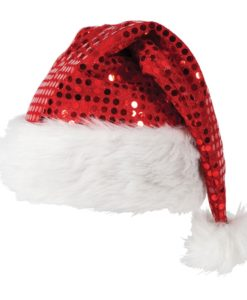 Christmas Santa Hat - Sequin