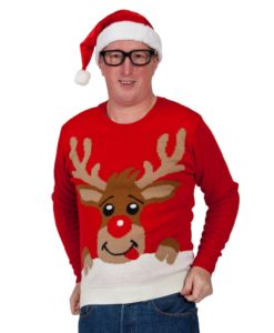 Christmas Jumper - Rudolf