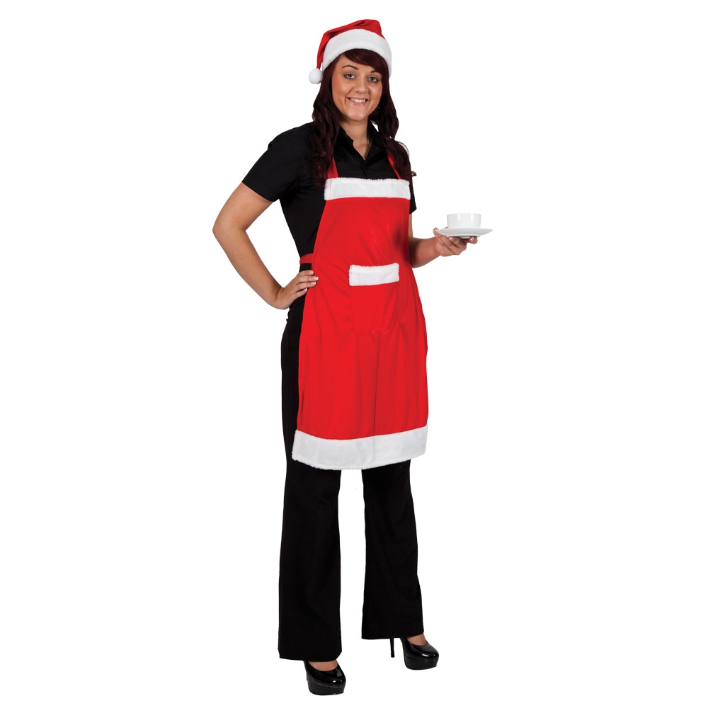 Christmas Apron + Hat