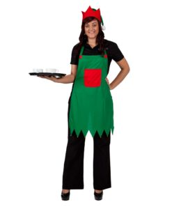 Elf Apron + Hat