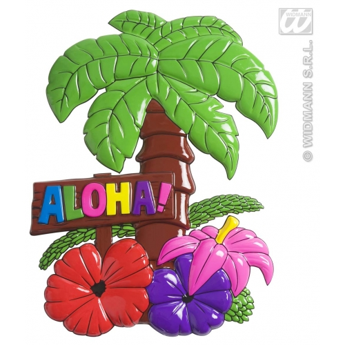 ALOHA Palm Tree Sign