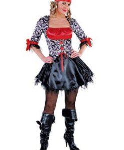 Pirate Lady - Skull & Crossbones