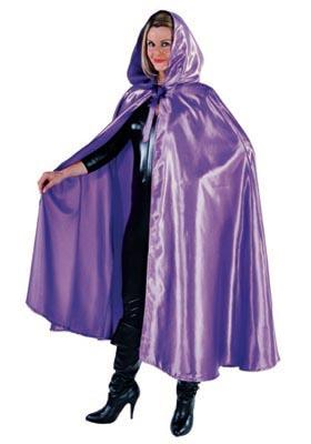Purple Hooded Cloak