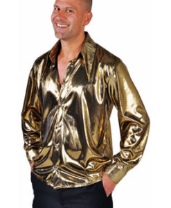 Liquid Gold Metallic Shirt
