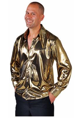 Liquid Gold Metallic Shirt