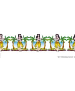 Decoration Garland - Hawaiian Hula Girl