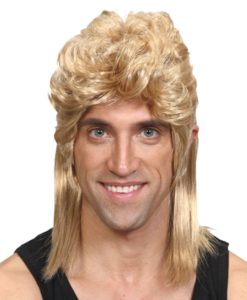80's style Mullet Wig