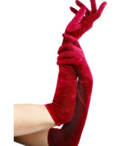 Gloves - Long Velveteen