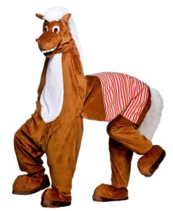 Pantomime Horse , 2-man Mascot Costume