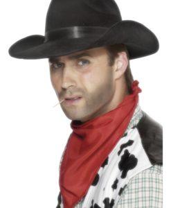 Hats . Cowboy Hat - Black
