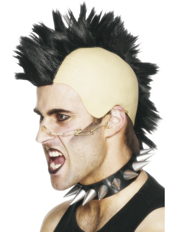 WIg- Black Mohawk