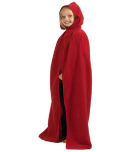 Childs- Red hooded Cloak