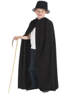 Childrens- Full length Hooded Cloaks