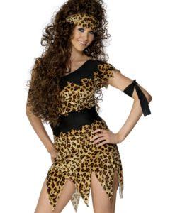 Cavegirl Leopard Black