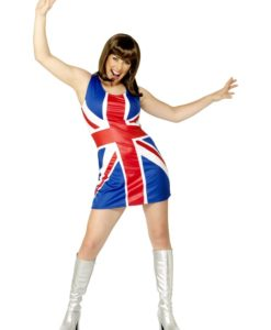 Union Jack Spice girl Dress