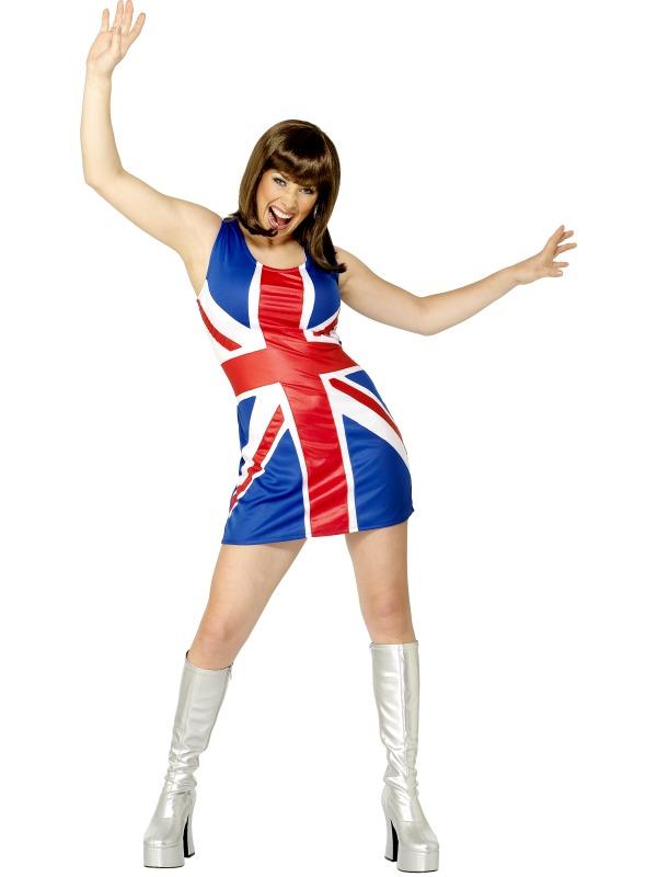 Union Jack Spice girl Dress