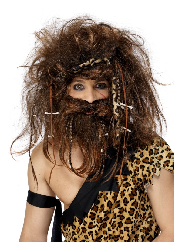 Wig and Beard set - Caveman
