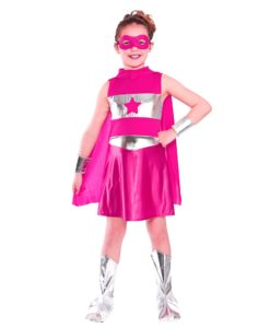 Children's - Pink Superhero - Girl