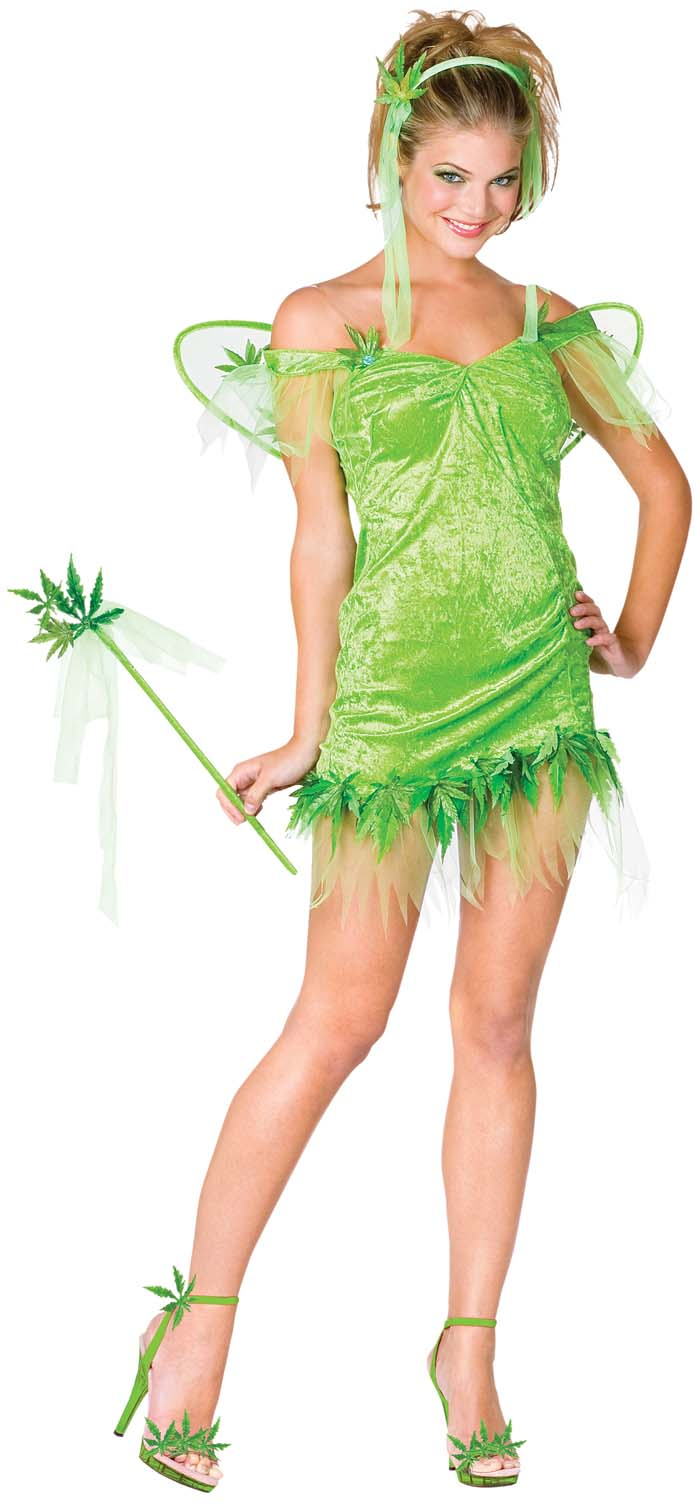 Green Leaf Fairy