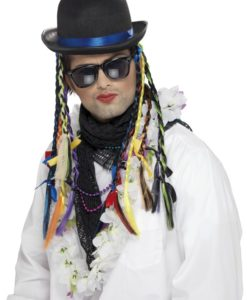"80's Boy George ,"" Chameleon"" Hat and hair"