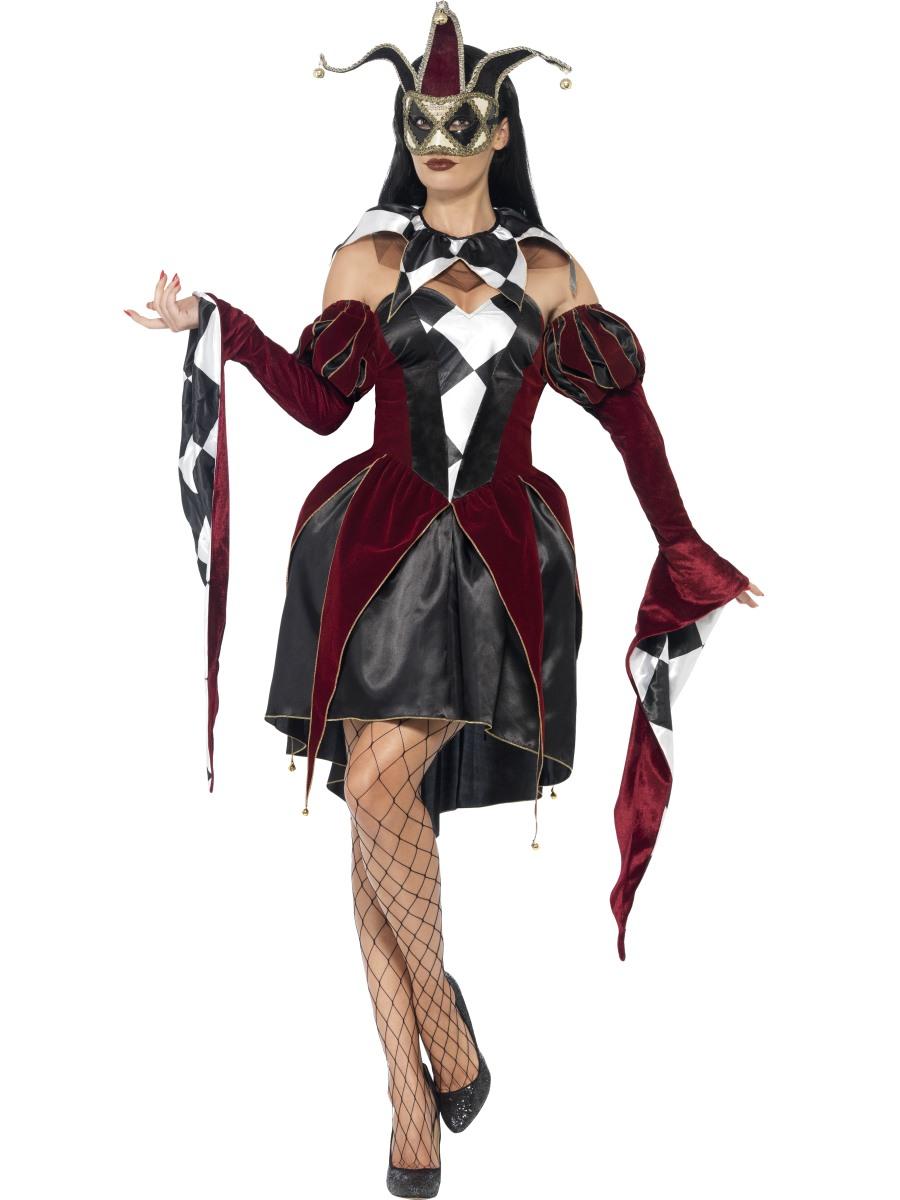 Gothic Venetian Harlequin