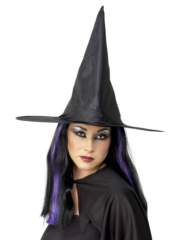 Witch Hat - wire brim