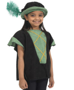 Tudor Tabard , Green / Black