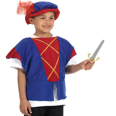 Tudor Tabard , Blue / Red