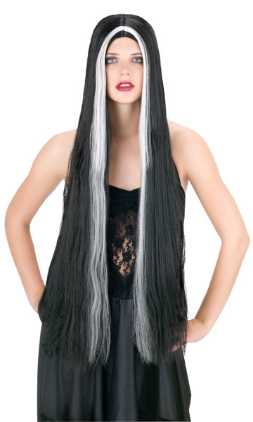 Wig - Halloween , 3ft streaked