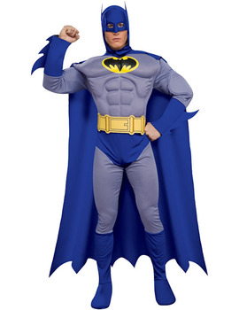 Batman Suit Blue