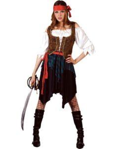 Pirate Lady - Caribbean