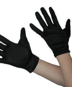 GLOVES: Short black