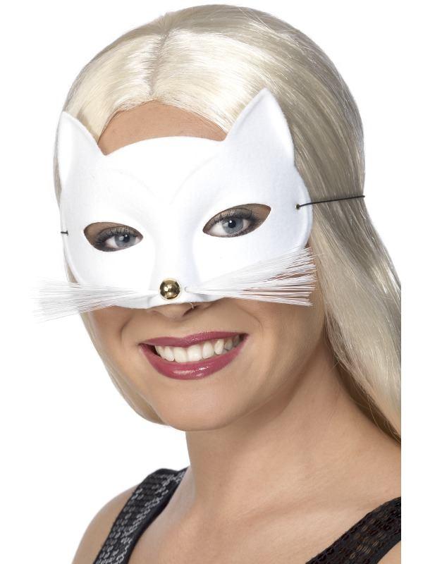 Eyemask - Cat White