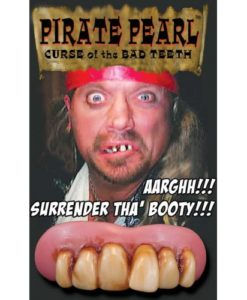 Billy Bob Pirate Teeth