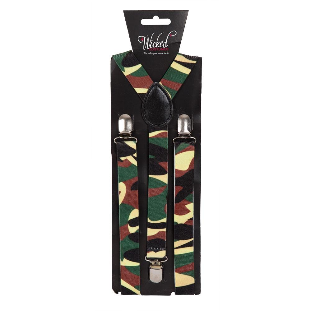 Braces - Army Camoflage
